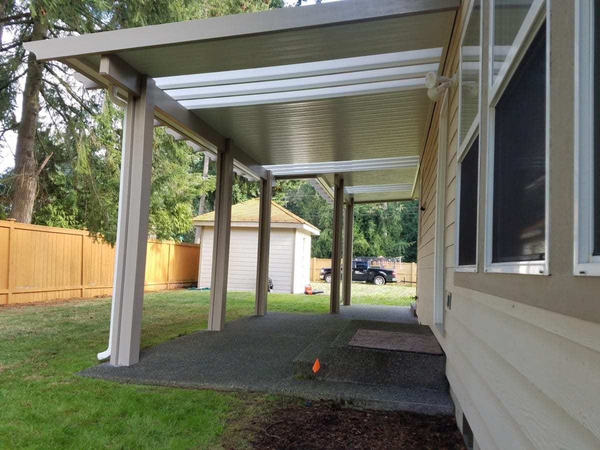 Skylight Patio Cover Installation In Tacoma Puyallup