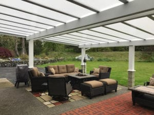 Beautiful Patio Cover installed in Enumclaw